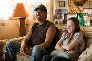 Kevin Costner and Madeline Carroll are father and daughter, and are what carry the movie.