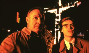Gene Hackman and Willem Dafoe in Mississippi Burning