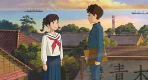 "Two teens make a connection, ""From up on Poppy Hill"""