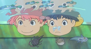 PONYO Noah Cyrus and Frankie Jonas lend their voices as new-found friends in PONYO