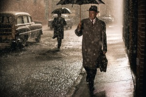 Tom Hanks (right) in Bridge of Spies.